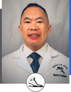 Robin K. Lie, DPM at Bay Area Foot and Ankle Associates in California