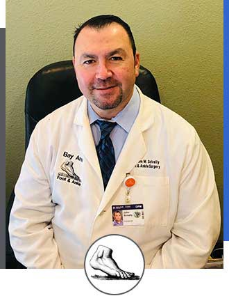 John W. Scivally, DPM at Bay Area Foot and Ankle Associates in Walnut Creek & Brentwood, CA