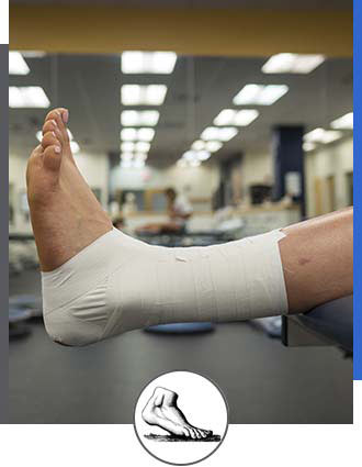Athletic Taping Near Me in Walnut Creek CA - Bay Area Foot and Ankle